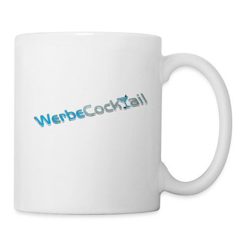 WerbeCocktail - Logo Version 3D - Tasse