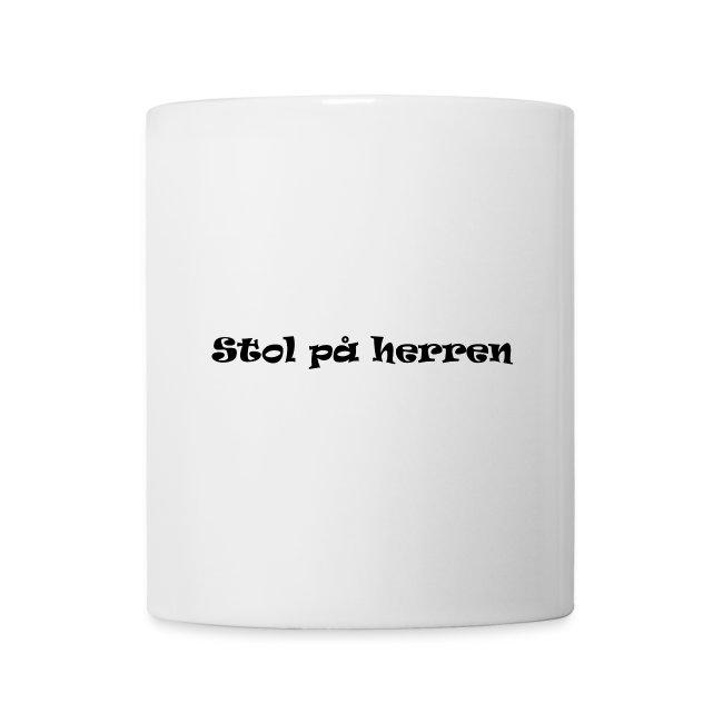 Stol på herren kopp