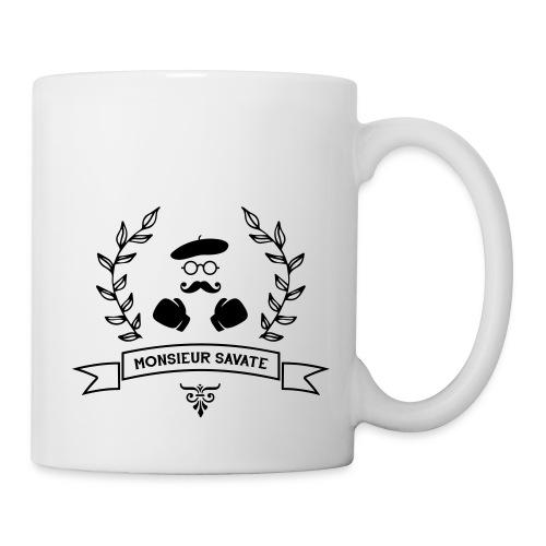 Monsieur Savate logo1 - Mug blanc