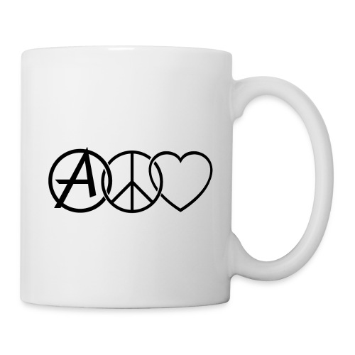 ANARCHY PEACE & LOVE - Mug
