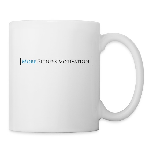 Female More fitness Motivation white/pink - Mug