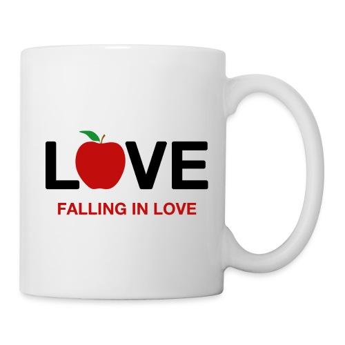 Falling in Love - Black - Mug