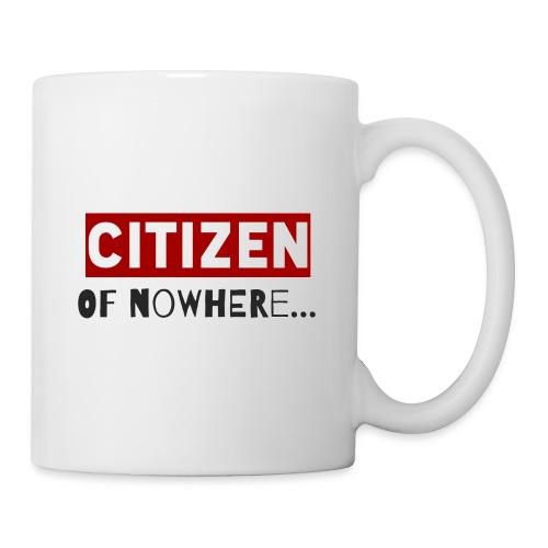 Citizen Of Nowhere 3 - Mug