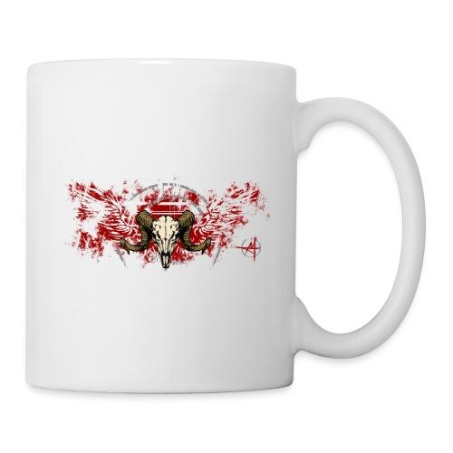 Geflügelter Widderschädel - Tasse