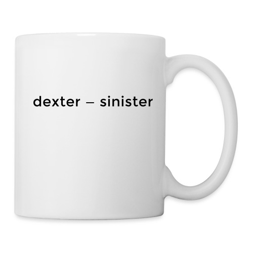 dexter sinister - Mugg