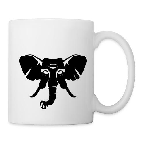 Skiclub Nairobi Elefant Frontlogo - Tasse