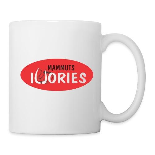 P Ivories Logo für Tassen - Tasse
