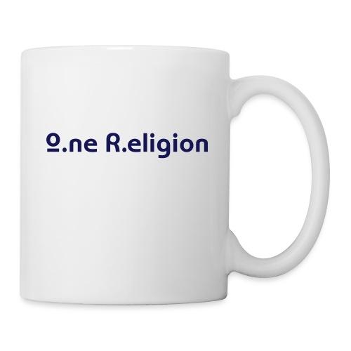 O.ne R.eligion Only - Mug blanc