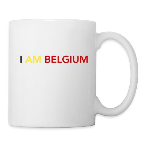I AM BELGIUM - Mug blanc