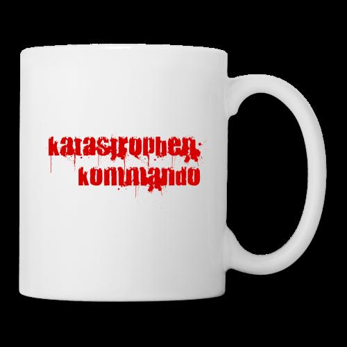 KK Logo rot - Tasse