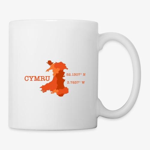 Cymru - Latitude / Longitude - Mug