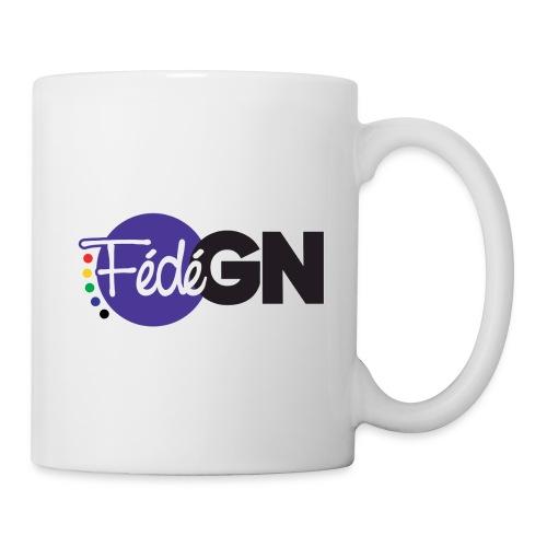 Logo FédéGN - Mug blanc