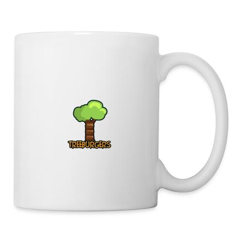 Treeburgers logo with text - Mug