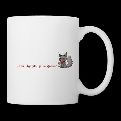 RavenWolfire Design - Mug blanc