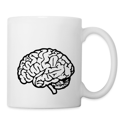 cerveau - Mug blanc