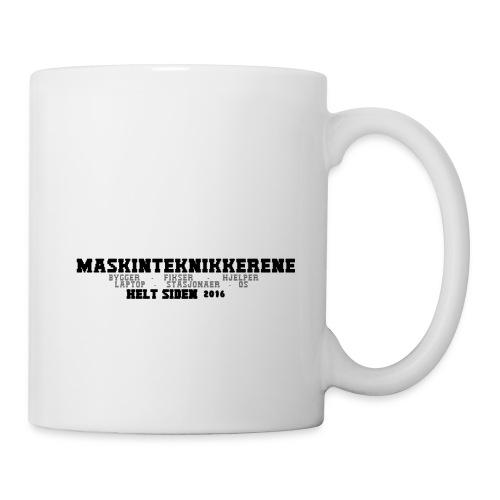Maskin Teknikkerene T-Skjorte for Menn - Kopp