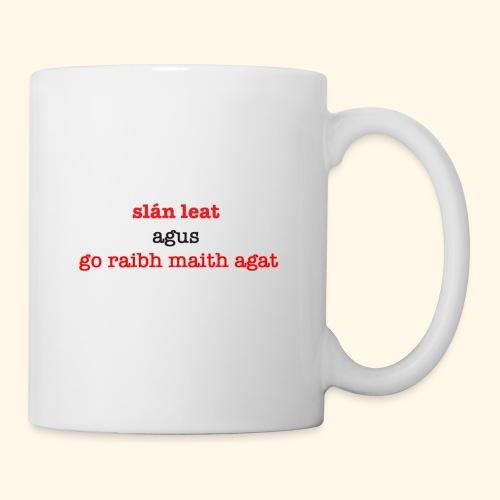 Good bye and thank you - Mug