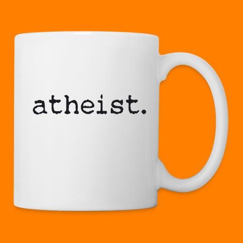 atheist BLACK - Mug