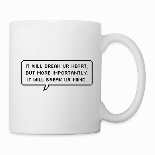 Inspiring sentence - Mug blanc