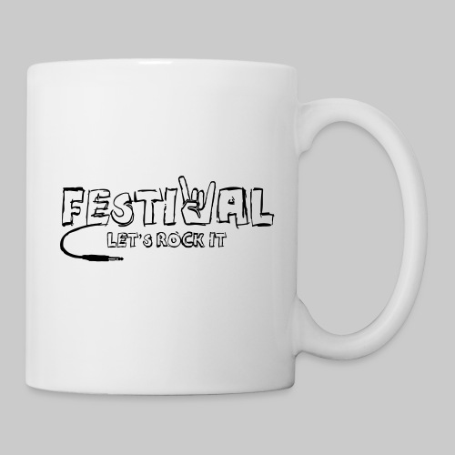 Festival, Let's Rock It - Tasse
