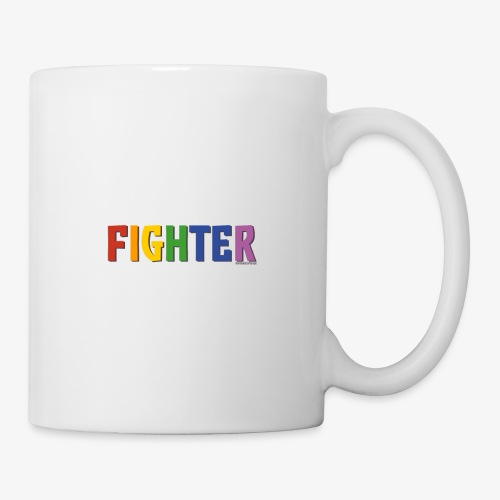 Fighter Pride (Rainbow) - Mug