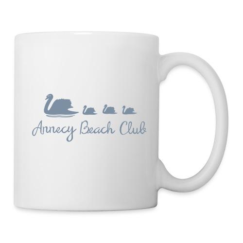 Annecy Beach club - Cygnes - Mug blanc