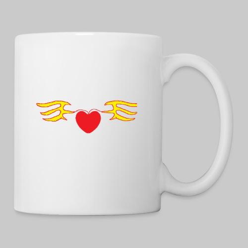 Heart & Fly - Mug blanc