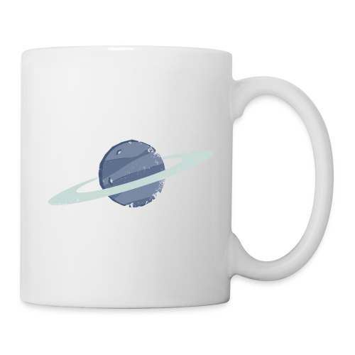 Planet - Retro Game Artwork - Mugg