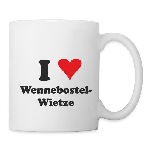 I Love Wennebostel-Wietze - Tasse