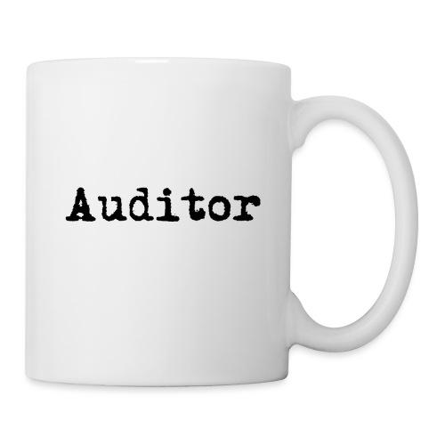 auditor typewriter black - Tasse