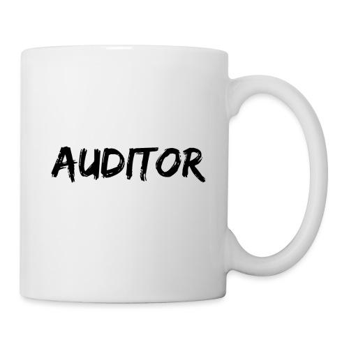auditor black - Tasse