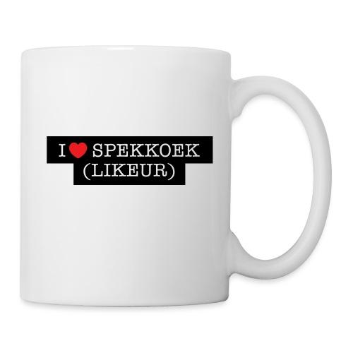 I LOVE SPEKKOEK(LIKEUR) - Mok