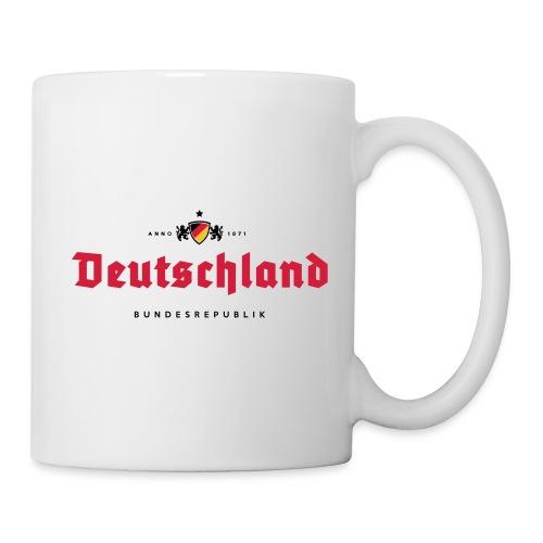 Deutschland beerlabel - Mug blanc