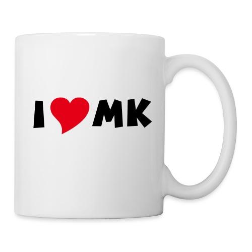 i love mk - Tasse