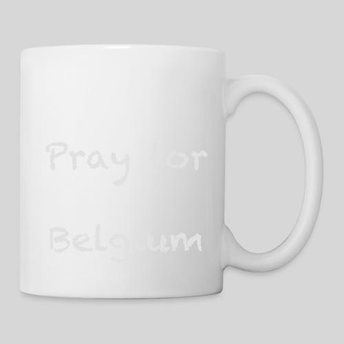 Pray for Belgium - Mug blanc