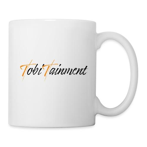 TobiTainment Logo Black - Tasse