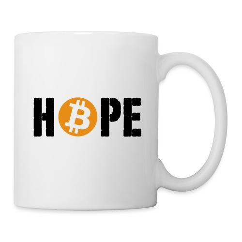 HOPE BTC - Mug blanc