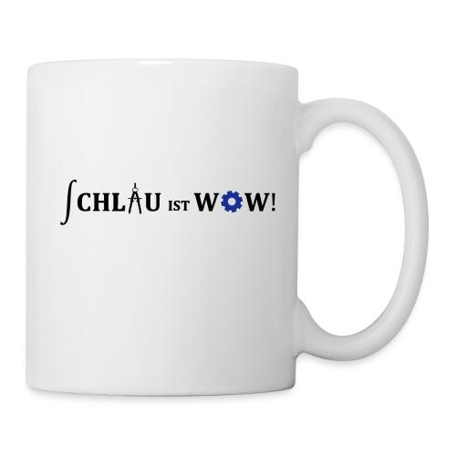 Schlau ist wow - ohne URL - Tasse