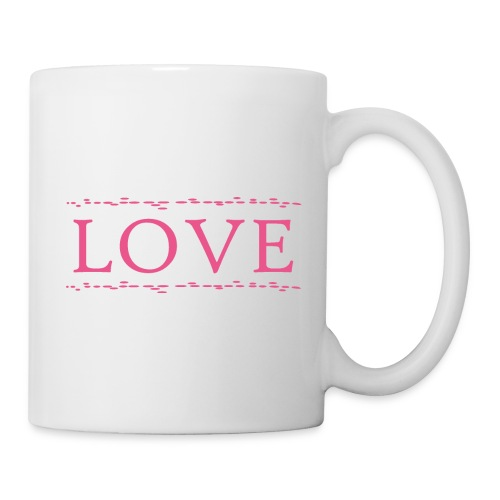 Love color rosa - Taza