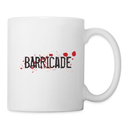 barricade color shirt - Tasse