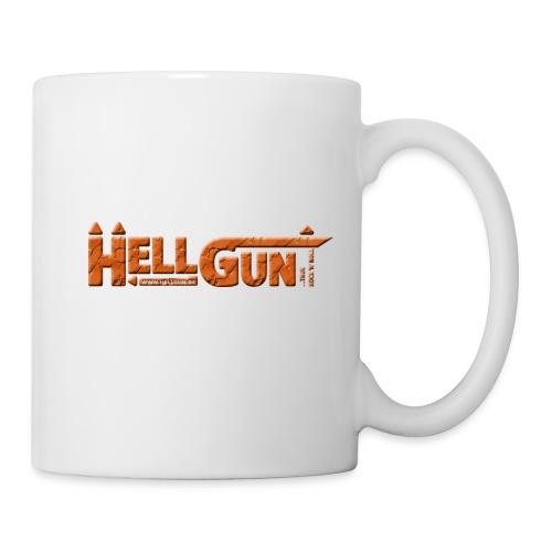 HELLGUN logo 2014 orange png - Tasse