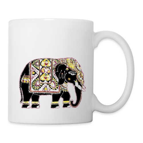 Indian elephant for luck - Mug