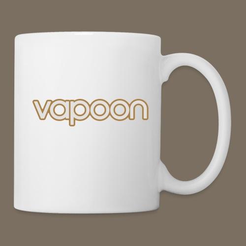 Vapoon Logo simpel 2 Farb - Tasse
