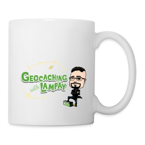 Geocaching With Lampay - Mug blanc