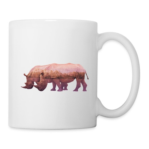 Nashorn Alpen - Tasse