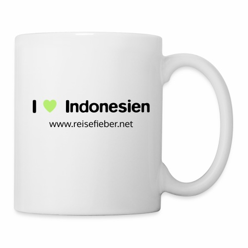 I love Indonesien - Tasse