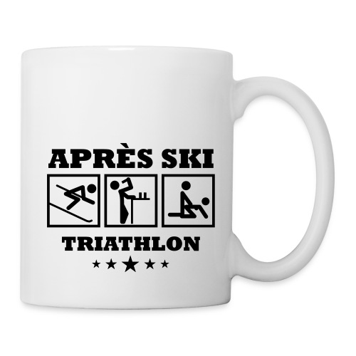 Apres Ski Triathlon | Apreski-Shirts gestalten - Tasse