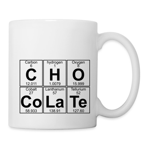 C-H-O-Co-La-Te (chocolate) - Full - Mug