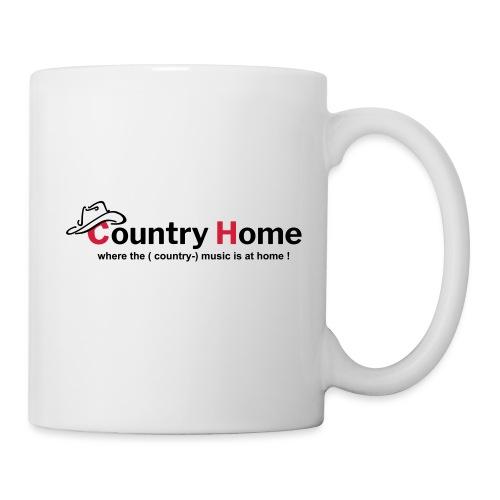 CountryHome Logo mit Slogan (Englisch) - Tasse