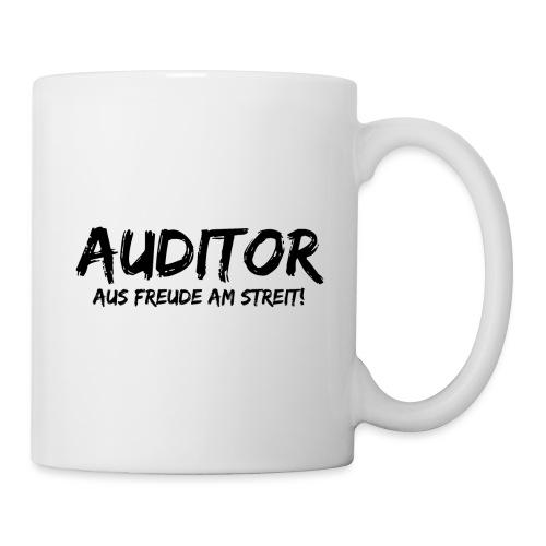 auditor aus freude am streit black - Tasse